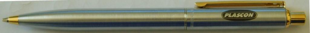 pen-stainless-steel-sheaffer-plascon-logo