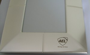 photo-frames-brushed-chrome-ael-mining-logo