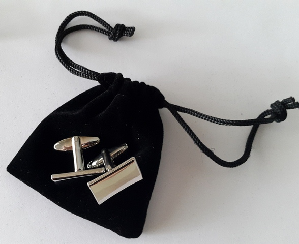 cufflinks with Velvet Pouches 4