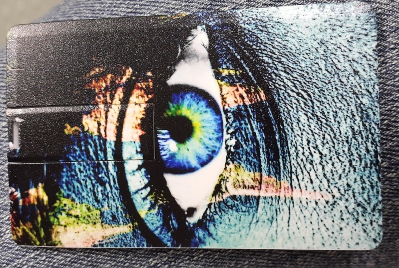 8 gig credit card usb full colour direct to product digital print - Copy